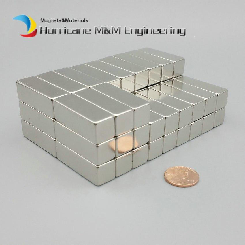 Упак. класс N42 Магнитный блок NdFeB 38,1x12,7x12,7 мм 1 1/2 * 1/2 * 1/2 сильный Неодимовый постоянные магниты редкоземельных магнитов