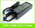 19V 3.42A 5.5*1.7mm Laptop battery Charger For Acer Aspire 5742z 5740G 5735Z 5737Z 5535 5335Z 5235 universal power supply