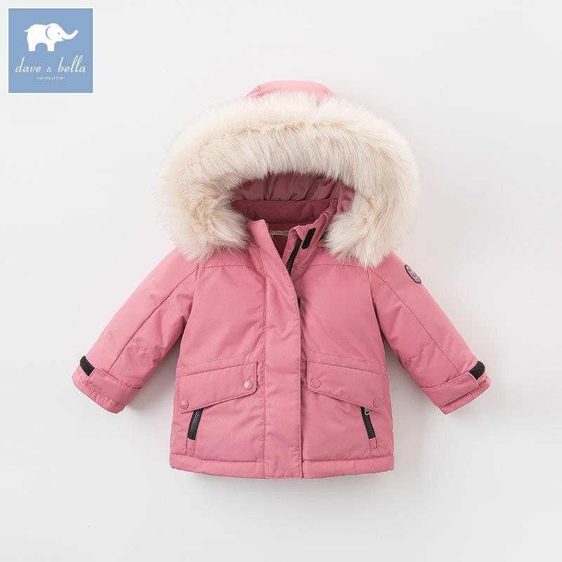 df639daff586 DB6328-G dave bella winter baby girls down jacket children 90% white ...