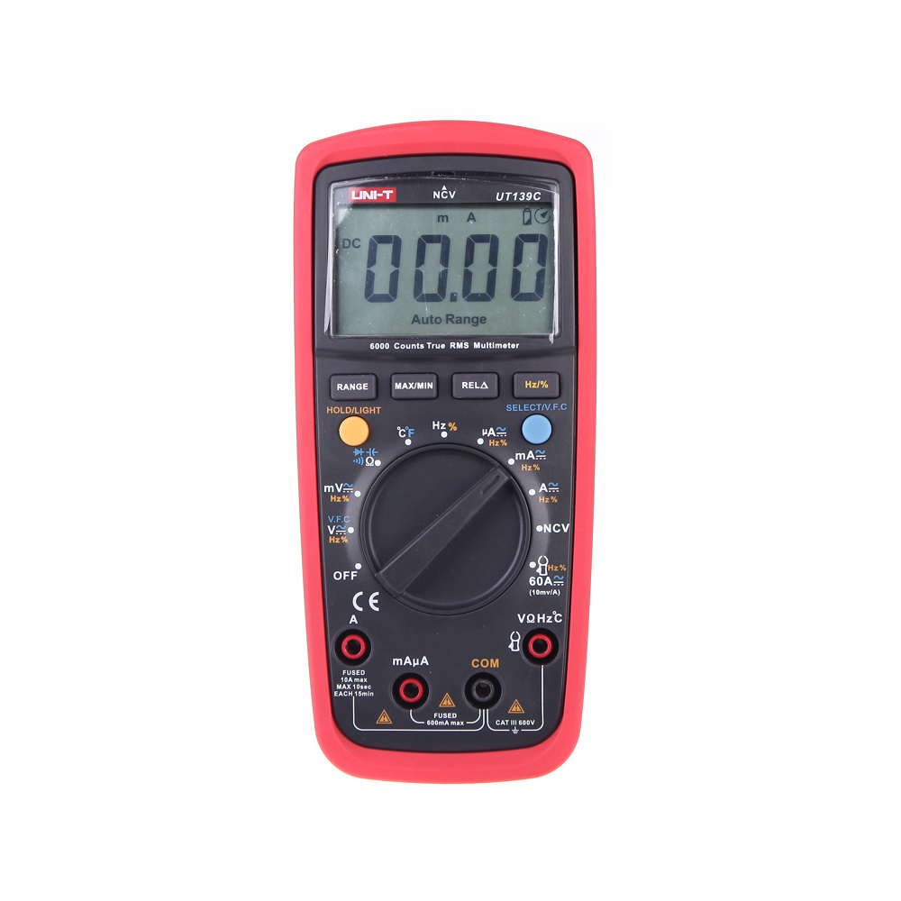 LCD Display UNI-T UT139C True RMS Electrical Digital Multimeters LCR Meter Handheld Tester Multimetro Ammeter Multitester цена