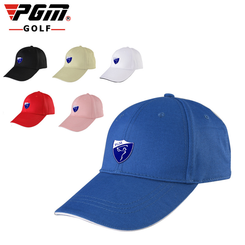 PGM Golf Colorful Cap For Men Women One Size Cotton Sunproof Summer Breathable Mans Sports Golf Caps