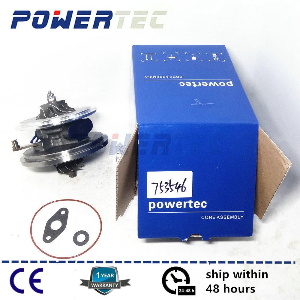 Cartouche turbo lcdp gtb1752vk pour land-rover freelander ii 2.2 td4 dw12b-turbine core 753546 6g9q6k682cb 6g9q6k682ca
