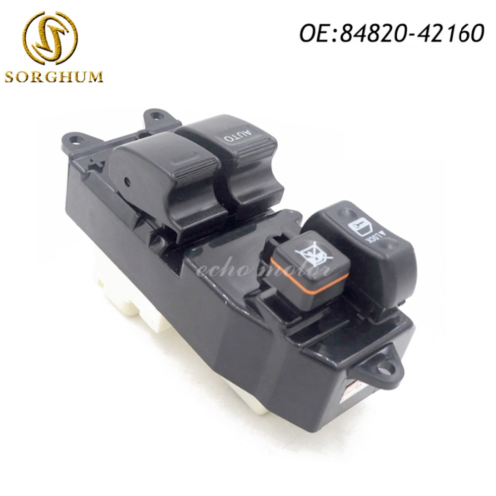 Baru 84820-42160 8482042160 Power Window Regulator Master Switch Untuk Toyota RAV4 2000-2005
