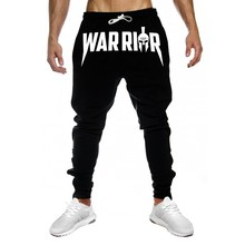 Men Slim Drawstring Cotton Sweatpants Gyms Fitness Trousers Man Jogger Workout Casual Fashion Pant Brand Pencil Pants Sportswear