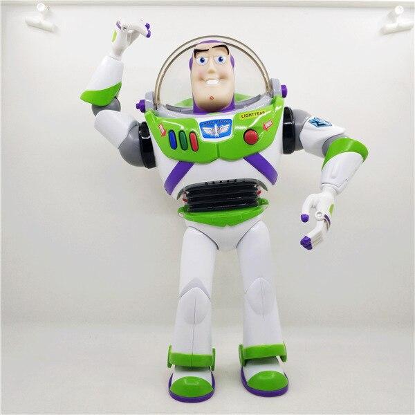 Nouveau produit Toy Story 3 parler Buzz Lightyear jouets lumières voix parler anglais Joint mobile figurines d'action enfants cadeau