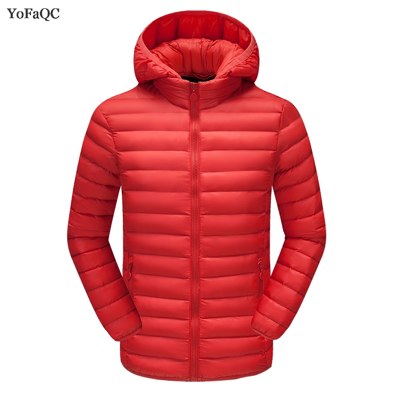 Winter New Arrival Jacket Men Warm Cotton Padded Coat Mens Casual Hooded Jackets Handsome Thicking Parka  Slim Coats size 4XL