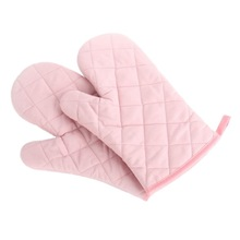 11-дюймовый кросс тканые полиэстер хлопок подкладка Прихватки Кухня Пособия по кулинарии рукавицы для выпечки термостойкие не скользят прихватки