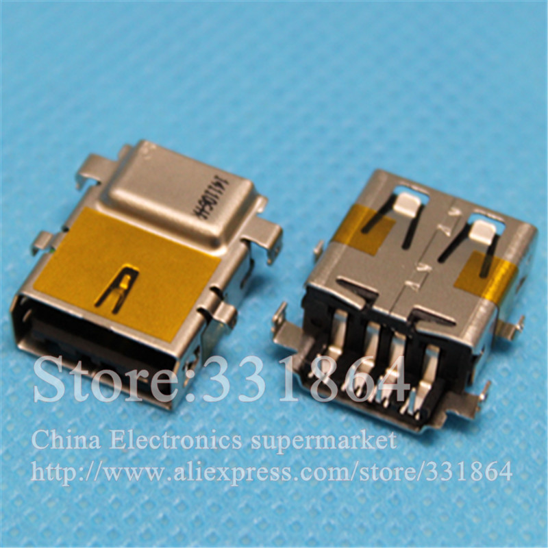 USB Jack Connector For Lenovo Asus Acer HP DELL Series usb port female socket 2.0 jack клавиатура lenovo hp