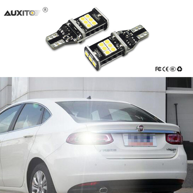 2x T15 1156 Canbus LED Auto Back Up Reverse Verlichting Voor Fiat ...
