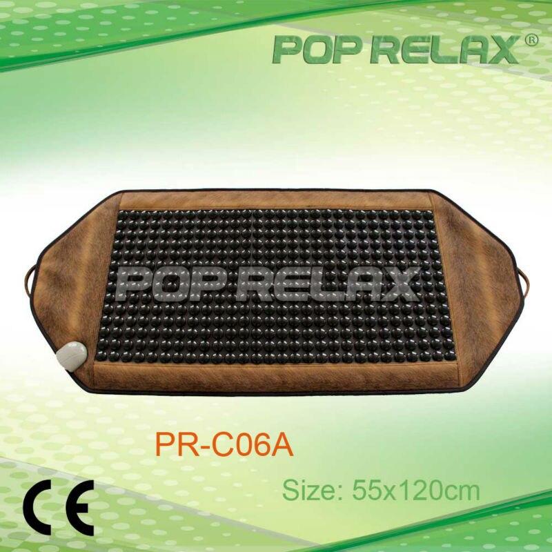 POP RELAX best size fir tourmaline heating soft mattress PR-C06A 55x120cm CE pop relax negative ion magnetic therapy tourmaline mat pr c06a 55x120cm ce