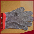 Metal welding stainless steel wire cut-resistant glove level 5 Cut resistant gloves iron steel ring glove