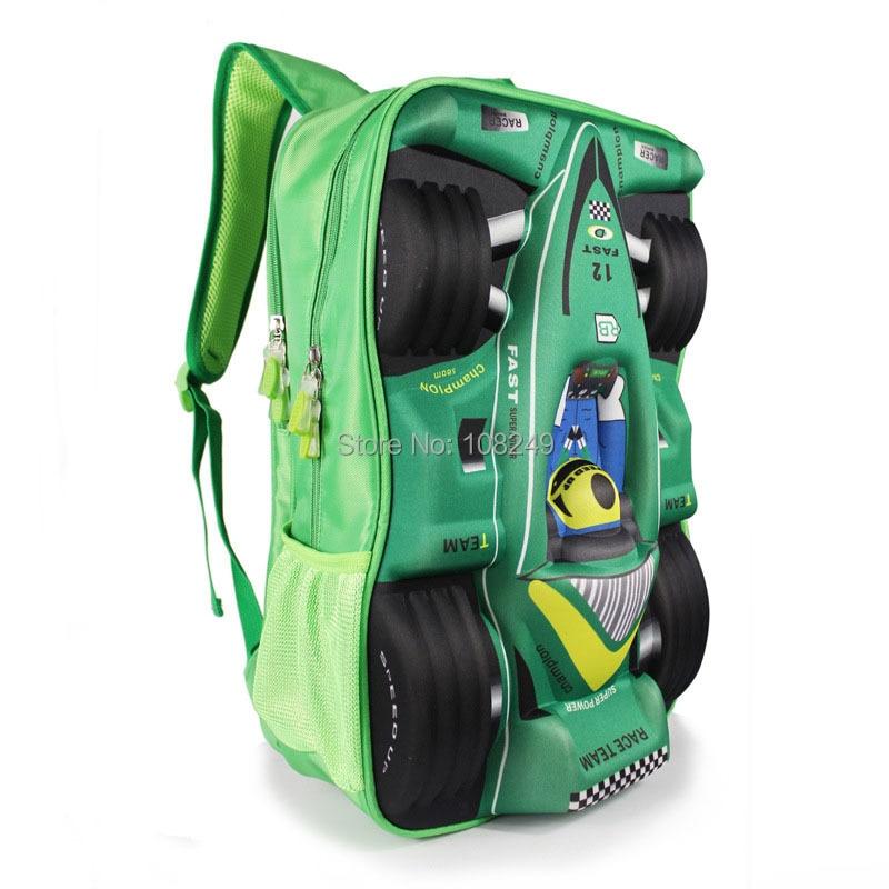 Aliexpress.com : Buy New Arrival 3D Cartoon Cars Backpacks Boy ...