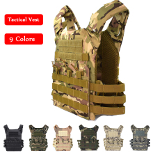 цена на Tactical Vest Military Hunting Airsoft Paintball Combat Training JPC Plate Carry Vest Camouflage Army Body Armor