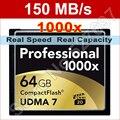 150 МБ/с. Марка 1000x128 ГБ UDMA 7 CF CompactFlash Карты Памяти Для Цифровой Зеркальный Фотоаппарат Canon Nikon 1080 P изображения Full HD 3D Видеокамера