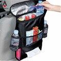 Auto Assento de Carro de Volta Organizador de Inicialização Lixo Titular Net Multi-Bolso Saco de Armazenamento de Viagem Cabide para Auto Capacidade De Armazenamento bolsa