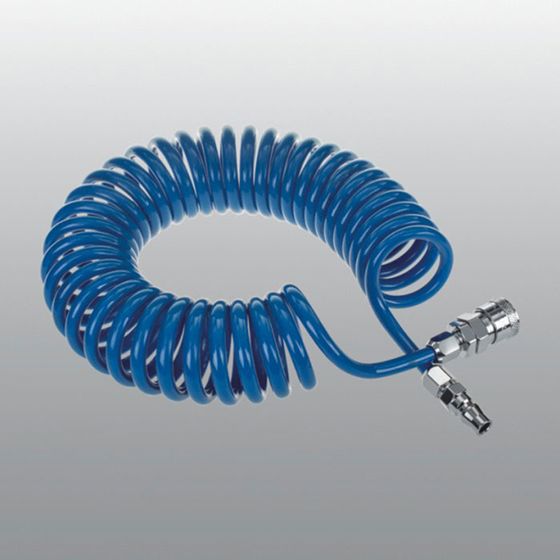 12 * 8mm PU spring hose PUD1208 withMetal Quick connector  12M compressed air tool flexible PU recoil hose without odorless 12 * 8mm PU spring hose PUD1208 withMetal Quick connector  12M compressed air tool flexible PU recoil hose without odorless