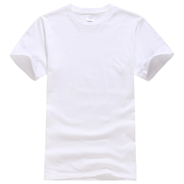 ab8f5eb67d75 2017 New Solid color T Shirt Mens Black And White 100% cotton T-shirts  Summer Skateboard Tee Boy Skate Tshirt Tops