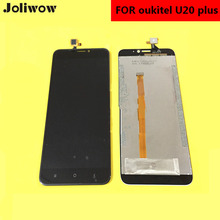 FOR OUKITEL U20 Plus LCD Display+Touch Screen+Tools Digitizer Assembly Replacement Accessories For Phone 5.5 display for oukitel power 5 power5 lcd display touch screen digitizer assembly replacement accessories