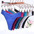 BEFORW Women Sexy panties Spandex Shorts Panties Vs Underwears Solid Black Pink Lingerie Thong Big Size Hipster Panty