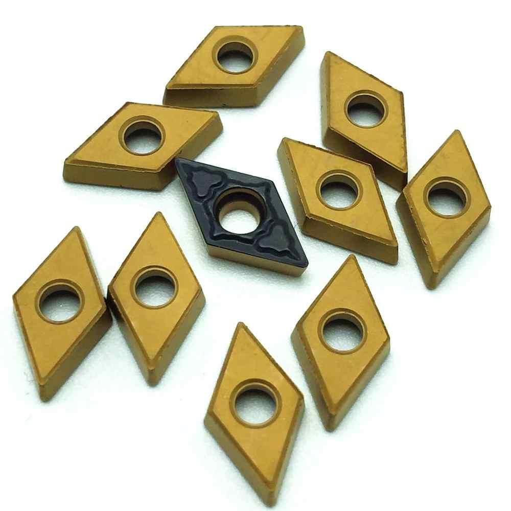 Carboneto de inserção DCMT070204 PM 4225 de alta qualidade externa ferramentas de torneamento torno transformando inserir inserção de fresagem CNC Frete grátis