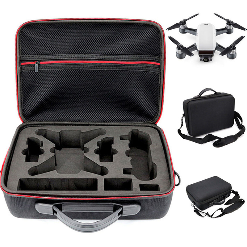 Portable Drone Case Eva Hard Shell Shoulder Bag Storage Bags Handle Box For Dji Spark Drone Accessories by Behorse