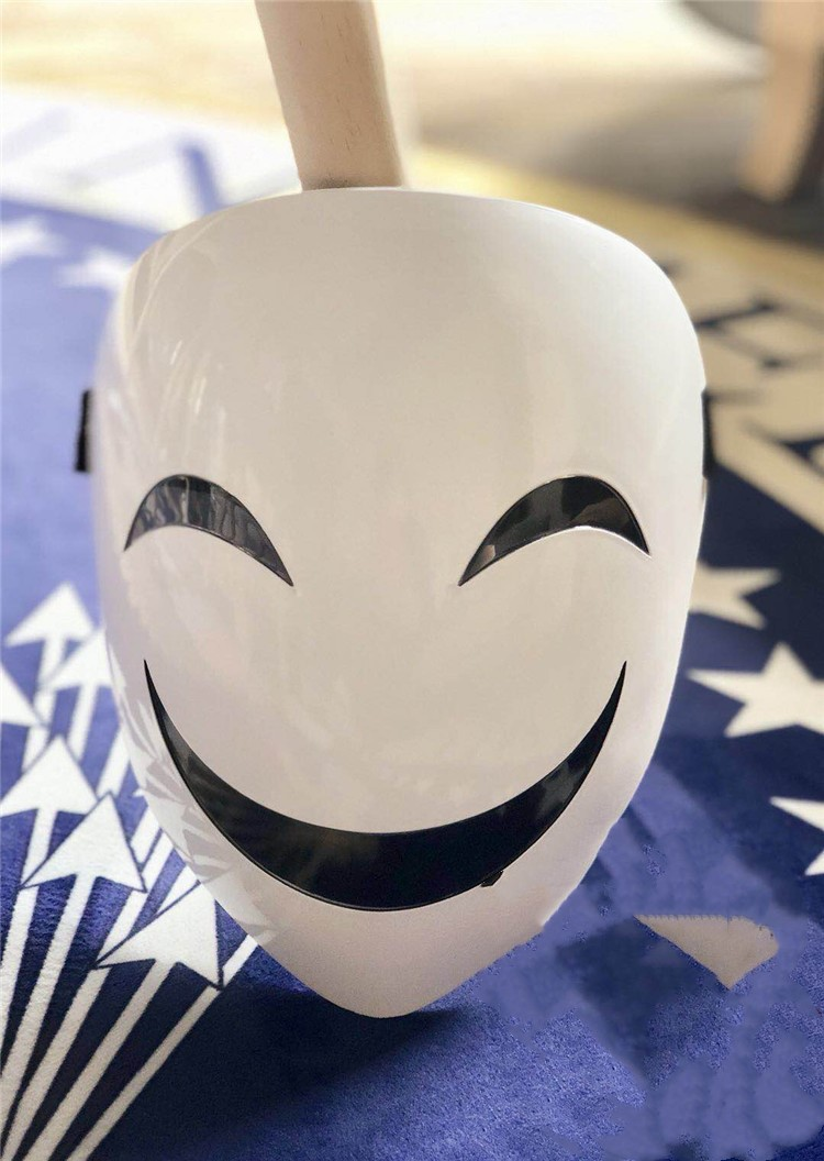 BLACK MEMENT Cosplay Clown Halloween Cosplay PVC Mask Costume Party Entertainment Cool Play Prop Drop Ship