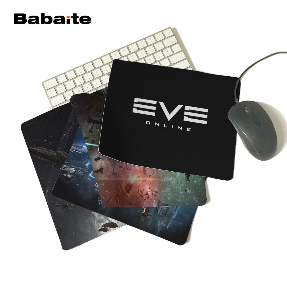 Oyun Serisi EVE ONLINE Koyu Logo Serin Kişiselleştirilmiş Bilgisayar Dizüstü Fare Mat Dayanıklı Kir 180x220mm Mouse Pad
