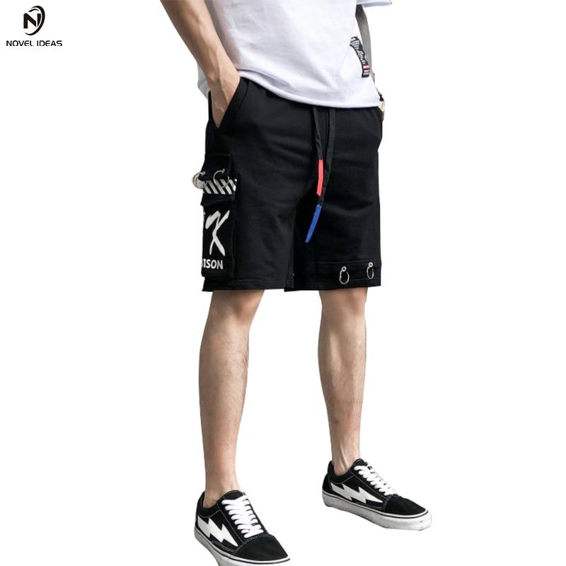 Short Novel ideas 2018 summer women harajuku hip hop shorts punk streetwear hiphop short homme skateboard cargo shorts