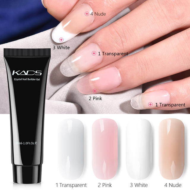 30ml Poly Gel Builder Extension Gel Quick Extension Varnish Glue For Nail Extension Nail Art Poly Gel Lacquer Nail Gel Polish