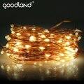 Goodland Cadenas de Luz de Alambre de Cobre LED Cadena Luz de la Decoración de La Boda Al Aire Libre 10 M Impermeable Luces De Navidad