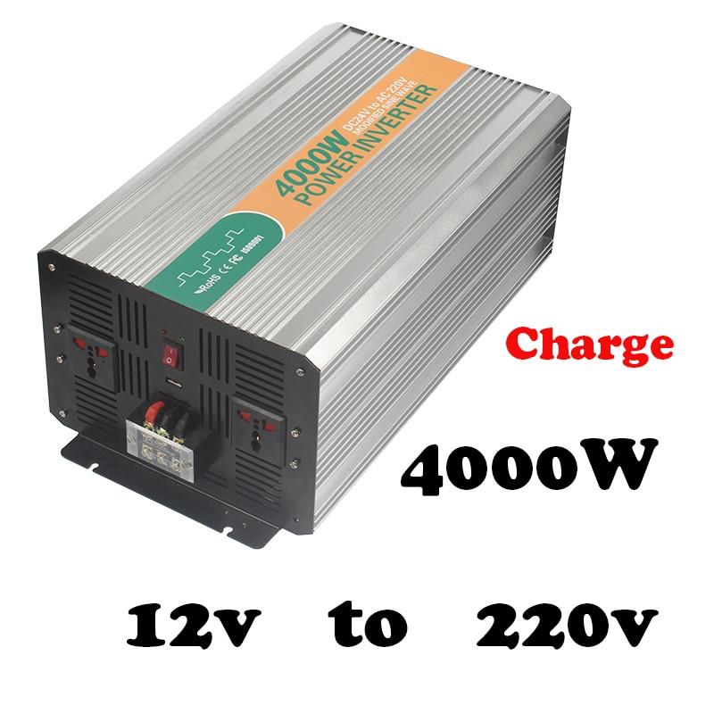4000w 12v Power Inverter 12v 220v Power Inverters For Sale