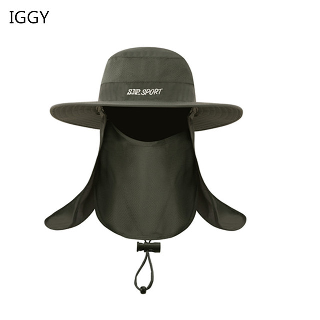 IGGY Unisex Sport Bucket Hat Waterproof Outdoor Fishing Cap Hunting Hat Men  Women Fisherman Sports Cap Mountain Climbing Sun Hat 11e00812153