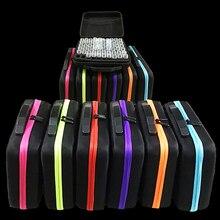 7 цветов 30/60 бутылок алмазная живопись крест аксессуары для вышивания ящик для инструментов контейнер Алмазная сумка для хранения Чехол вышивка мозаика