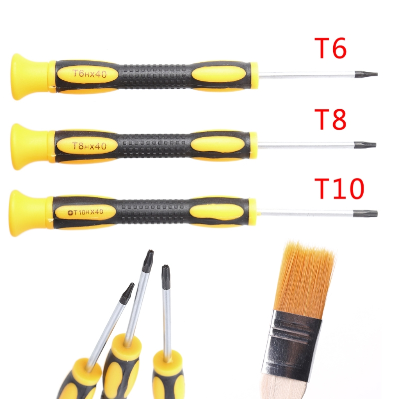 2018 New T6 T8H T10H Screwdriver Repair Tool Kit For Xbox One/Xbox 360  Controller/PS3/PS4