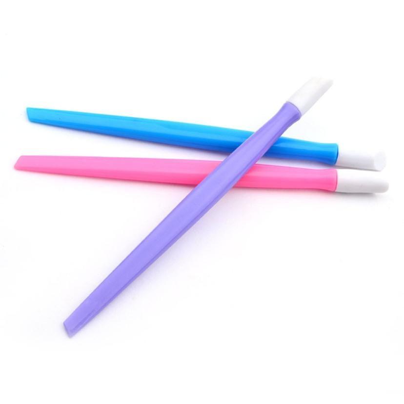 Cuticle Pusher HAICAR ColorWomen 1Pc Manicure Tool Nail Art Stick ...