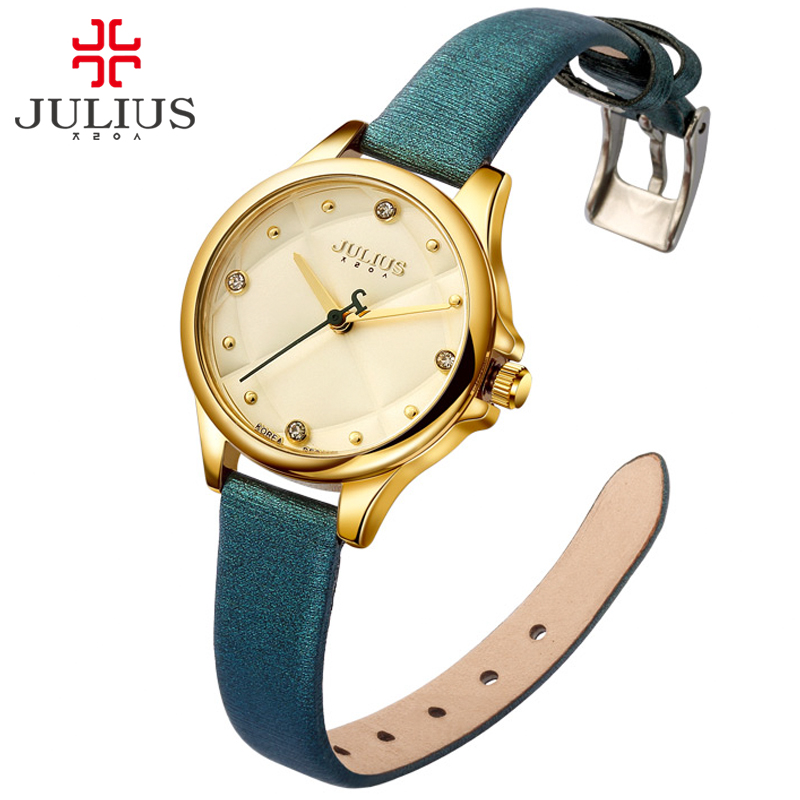 웃 유JULIUS Top Brand Luxury Gold ᐂ Watch Watch Hand Clock ...