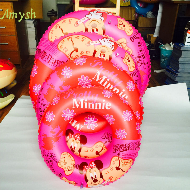 Inflatable Baby Swimming Ring Donut cartoon Seat Swim Float Ring And Child Swimming Pool Circle Baby Seat Rings inflatable toys