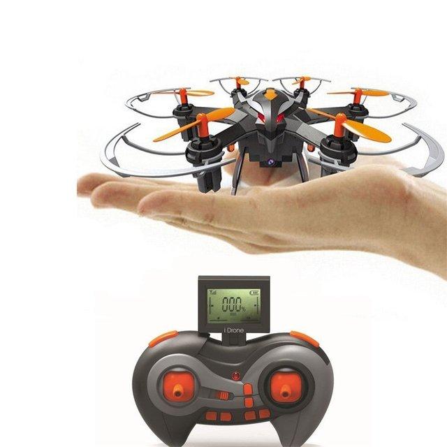 YiZhan i6s Mini Nano Zangão Drones com Câmera de 2MP HD 6 Eixos Quadcopter Dron 3D Rolar Helicóptero
