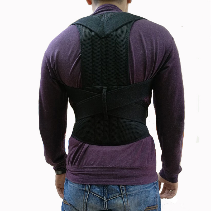 Back Posture Corrector For Men Women Back Shoulder Lumbar Brace Adult Corset Spine Support Belt Posture Correction