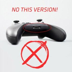 Image 3 - DATI RANA 2PCS Nuovo Nero LB RB Imbottiture E Paraurti Pulsante Per Xbox Un Controller Con 3.5 millimetri Porta Martinetti Per xbox One Elite Controller