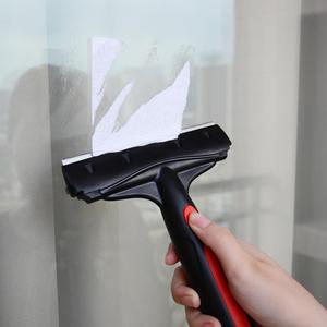 Image 4 - EHDIS 6 นิ้วคาร์บอนไฟเบอร์คาร์บอนไฟเบอร์ไวนิลรถตัดสติกเกอร์ Handled Scraper ทำความสะอาดสแตนเลสใบมีดไม้กวาดหน้าต่างฟิล์มกาว Remover