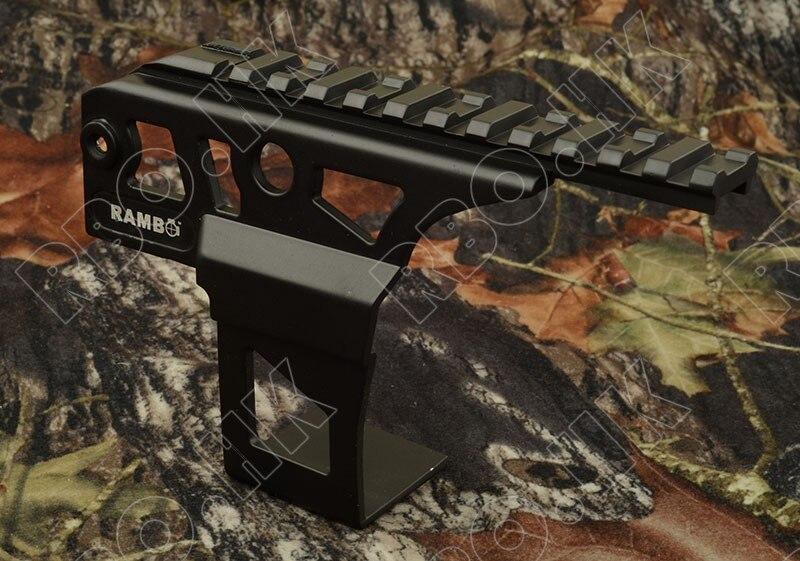 AK rifle red dot sight scope side picatinny rail mount base airsoft AEG M6914|for airsoft|ak 47|for gun - title=