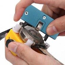 Потрясающие Прямоугольник часы задняя крышка чехол Чехол открывалка для снятия гаечный ключ для ремонта набор инструментов практичные, для часов ремонт инструмента