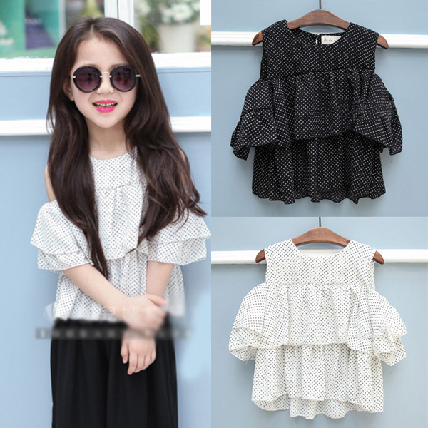 Kids Off Shoulder Tops UK