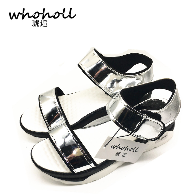 Platform Sandals Women 2017 Summer female Shoes Leather Casual Shoes Open Toe Gladiator wedges Trifle Mujer Women Shoes Flats plus size 34 44 summer shoes woman platform sandals women rhinestone casual open toe gladiator wedges women zapatos mujer shoes