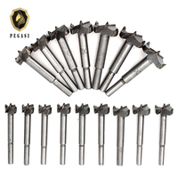 PEGASI 16pcs/Set 15 35mm Core Drill Bits Professional Titanium Coated Woodworking Hole Wood For Rotary Tools Hss Center Punch