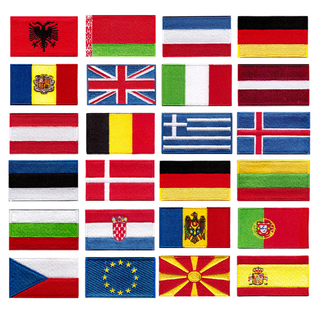 Nouveaux produits drapeau du Vatican Logo vêtement   Badge brodé vêtements ou sacs, décalcomettes décoratives Patchwork broderie adapté à tout