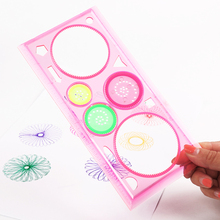 Interesting Puzzle Spirograph Children Drawing Plastic Ruler Can Improve The Child'S Start Work Ability недорого