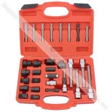 30 stücke Lichtmaschine Freilauf Pulley Abzieher Lichtmaschinen Werkzeug-set Spezial-stecksatz