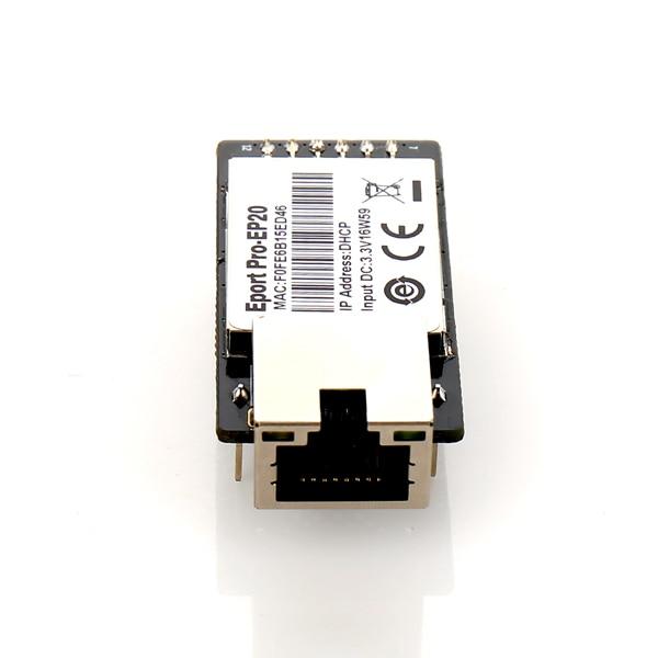 IoT Eport Pro-EP20 Linux Network Server Port TTL Serial to Ethernet Embedded Module DHCP 3.3V TCP IP Telnet CE Certified 10pcs pack ce hf eport e20 freertos network server port ttl serial to ethernet embedded module dhcp 3 3v tcp ip telnet